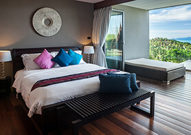 Villa Suralai - Bedroom four, five, six with stunning view